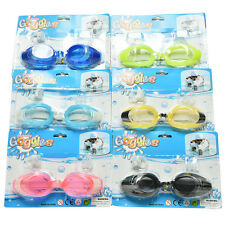 Adult Summer Diving Swimming Glasses Goggles Set Earplugs Nose Clip    LE