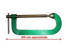 "New Metal Green Finish G-Clamp Diy Tool Heavy Duty 8"" 200MM-Welding Woodworlk"