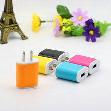 USB Power Adapter One Port US Plug Home Wall Travel Charger 5V 1A Universal