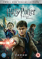 Harry Potter And The Deathly Hallows Part 2 (DVD, 2011, 2-Disc Set, Box Set)