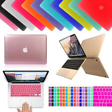 "Rubberized Hard Case Keyboard Cover for Macbook Air Pro Retina 11 12 13 15"" Inch"