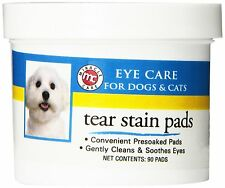 MIRACLE CARE TEAR STAIN PADS STAIN REMOVER OR STERILE 90CT. FREE SHIP TO USA
