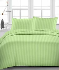 Sage Striped - Bedding Collection 1000TC Egyptian Cotton Select your Item & Size