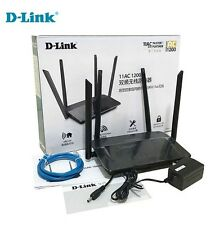 D-Link Wireless Internet Router Wi-Fi 802.11AC Dual Band WiFi AC1200 DIR-822