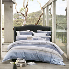 Private Collection Avoca Chambray Doona Quilt Cover Set Queen King Super King