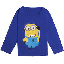 NEW DESPICABLE ME 2 MINIONS BOY GIRL CLOTHES CHILD TOPS TEES GIFT KIDS T-SHIRTS