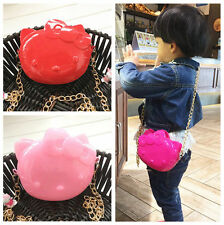 2016 Hellokitty Jelly Color Messenger Bag Handbag Purse AA88J