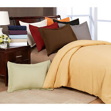 Duvet Cover Set 3-Piece Bedding Comforter Covering Buttoned Covers & Pillowcases