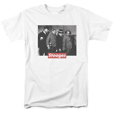 Three Stooges Classic Movie Frame Picture Curly Moe Larry Tee Shirt S-3XL