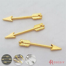 50PCS 29*5MM Small Arrow Charms Pendants Jewelry Findings Accessories 29212
