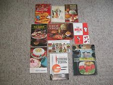 Very Rare Vintage Lot of 10 Recipe Advertising Cookbook Booklets 1960's (Lot A)