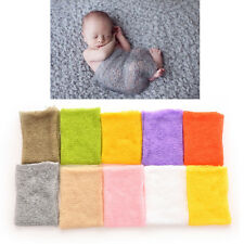 Baby Photography Props Mohair Wrap Boy and Girl Knitted Crochet Photo Prop RW