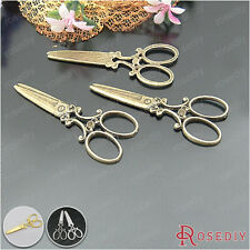 20PCS 60*25MM Zinc Alloy Scissors Pendants Jewelry Findings Accessories 21835
