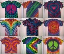 New Tie Dye Youth S Alstyle 100% Cotton Short Sleeve T-shirt Multi-color