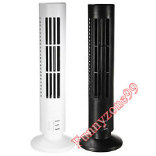 5V 0.5A Portable Mini USB Bladeless No Leaf Cooling Cooler Fresh Fan Desk Tower