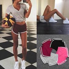 Summer Pants Women Sports Shorts Gym Workout Waistband Skinny Yoga Casual Shorts