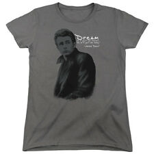 JAMES DEAN TRENCH Licensed Women's Graphic Tee Shirt SM-2XL