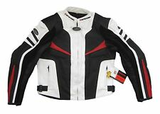 Motorcycle Leather Jacket Motorbike Biker CE Protection Mens Cropped Spider2