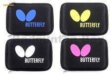 Butterfly Logo Rectangle Case for Table Tennis Racket 62770 Series Fits 2 Bats
