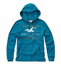 Nwt Hollister By Abercrombie Mens Full Zip and Pullover Hoodie Turquoise