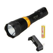 Waterproof 5000LM CREE XML T6 LED Diving Flashlight Torch 18650 Lamp Underwater