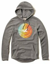 Nwt Hollister By Abercrombie Mens Full Zip and Pullover Hoodie Size M Grey Nwt