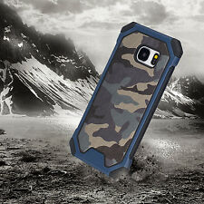 Fashion Camouflage Hybrid Armor Rugged Protective Case Cover For Samsung Galaxy