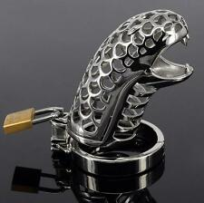 Male Chastity Device Erotic Belt Restraint Bondage Fetish Urethral lock