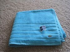 BNWT Lacoste Towels, Bath, hand, wash cloth, 100% cotton, assorted colors, pick