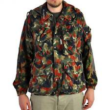 Swiss Army ALPENFLAGE Camouflage Jacket Grade 1 Condition