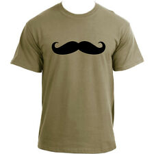 Moustache Movember Mustache November Mo Bro Basic Moustache Hipster T-Shirt