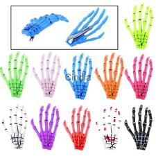 Halloween Women Zombie Skull Skeleton Hand Bone Claw Hairpins Hair Clips Gifts