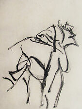 WILLEM DE KOONING - ODE TO DE KOONING III - ORIGINAL LITHOGRAPH FREE SHIP IN US