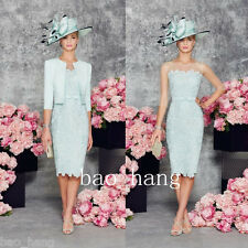 Mint Two Piece Mother Of Bride Dresses Suit 2016 Formal Evening Outfits Women