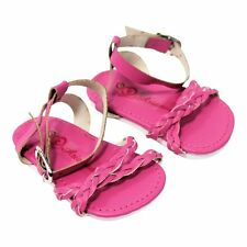"""Doll Clothes AG 18"""" Shoes Sandal Braided Pink Arianna Fits American Girl Doll"""