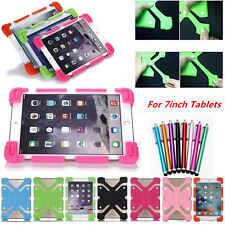"Universal Kid Shockproof Cover Silicone Soft Case For 7.0-7.9"" Various Tablet PC"