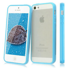 Hard Matte Clear Back Case Soft Silicone TPU Bumper Cover for iPhone 5s 5c 6s 6p