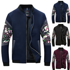 NEW Mens Fashion Casual Stylish Slim Fit Casual Baseball Sports Jacket Coat Tops