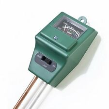 3 in 1 PH Tester Soil Water Moisture Light Test Meter for Garden Plant Good I5