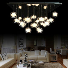 Crystal Glass light Ceiling Hanging Lamp Pendant Lighting Chandlier Home Decor