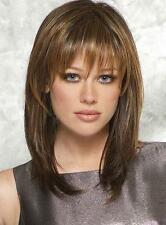 Top Quality Natural Straight Mix Brown Capless Wig Human Hair Wig