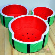 Pet Supplies Dog Bed Cat Mat Sofa Dog House Cushion Nest Couch Watermelon Shaped