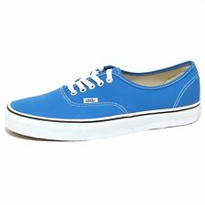 7871P sneaker VANS AUTHENTIC bluette scarpa uomo shoe men