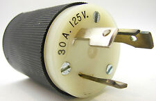 Hubbell 2611 Twist-Lock Plug 125V 30A NEMA L5-30P 3-Wire Grounded Listed bb14