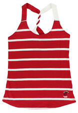 Antigua Womens Miami Heat NBA Pounce Tank Top Red