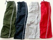 NWT GYMBOREE Boys Athletic Active Wear Jersey LINED Track Pants UPIC Color 3T