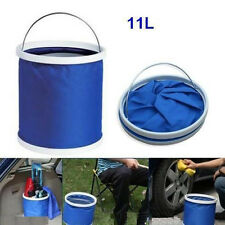 Outdoor Camping Fishing Car Folding Collapsible Bucket Barrel Water Container