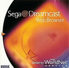 SEGA Dreamcast Web Browser (Sega Dreamcast, 1999) Brand New