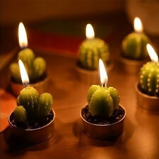 6Pcs Cactus Plant Candles Party Birthday Wedding Decorations Dinner Candle craft