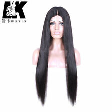 Silk base/Silk top Lace wigs 100% human virgin remy hair with adjustable straps